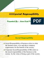 Social Responsibility Kraj