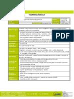 Programa de Formacao Ergonomia e LME