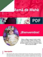 Texto promocional - Mamá de Mahé