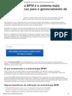 Metodologia BPM_ Torne Sua Empresa Mais Eficiênte Implementando o BPM