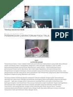 Analis Smk Bantul_ Pemeriksaan Laboratorium Pada Tinja