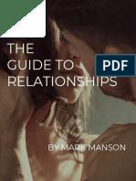Relationships - Mark Manson