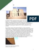El Templo de Horus Edfu