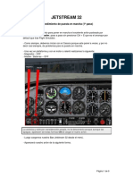 Jetstream 32 - Checklist Procedures