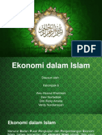 Ekonomi Dalam Islam
