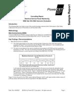 Sample IEEE519Harmonic