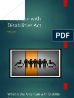 american with disabilities act power point