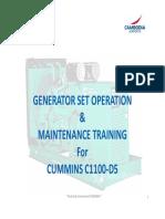 Operation & Maintenance Training_R1