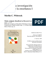 La investigacionde la enseñanza I Wittrock.pdf