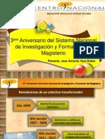 PONENCIA TRES AÑOS DEL SISTEMA DE FORMACION ARAGUANEY.pptx