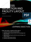 Ch06-Process Selection Facility Layout