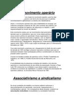 Associativismo e sindicalismo.docx