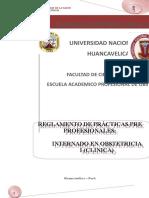 Reglamento de Practicas Pre Profesionales- 2004- 2008 (Clinico y Rural)2015anterior