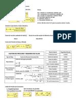 Ecuaciones de Flujo de Gas y Compresores