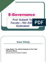 E+ +Governance
