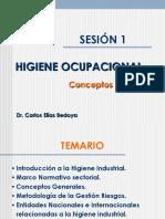 Sesión 01 Introducción Higiene Industrial