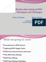 Enabling Effective Data Mining of RFID Data