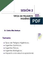 Sesión 02 Tipos de Peligros