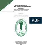 Relaciones Industriales Infograma