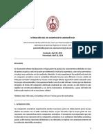 Informe de Laboratorio N2 ORGA 2_ Sintesis de La p Nitroacetanilida