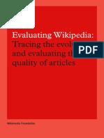 Evaluating Wikipedia Brochure