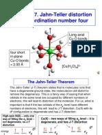Jahnteller Effect Unit 3 2017