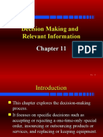Decision Making Relevant Costing