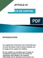 4UNIDAD IV Costo de Capital (3)