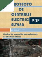 PROYECTO DE CENTRALES ELÉCTRICAS