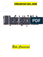 1000QuestõesLegislaçãoTrânsito