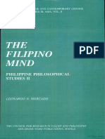 The Filipino Mind