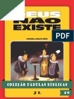 COLEÇÃO FÁBULAS BÍBLICAS VOLUME 19 - DEUS NÃO EXISTE - Copia.pdf