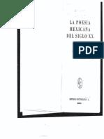 La Poesía Mexicana Monsiváis