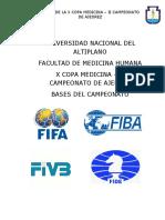 Bases de La Copa Medicina 2018