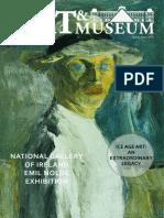 Art Museum Spring 18 Spread