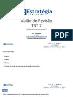 Aulao de Revisao de TI(Governança de TI) TRT7 - Fabio Alves