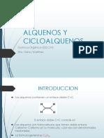 Introduccion Alquenos y Cicloalquenos