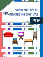 Conciencia Lexica Comprendemos Frases Negativas