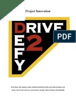 drive 2 defy project innovation