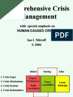 Crisis Mgt Mitroff Framework