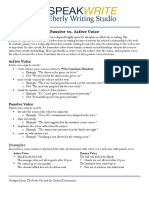 passive and active voice - edited ag