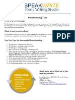 proofreadng strategies - edited ag