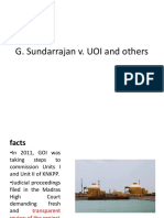 Case G Sundarrajan