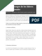 Articulos de Liderazgo y Management en RRHH
