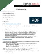 instructional technology workshop - kurt doehrman - itec 7460