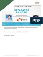 CJDBC a Leccion Metadatos