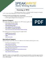 tutoring at wvu