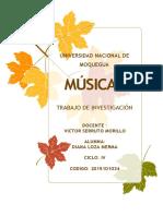 Musica Trabajo de Canto PDF Real