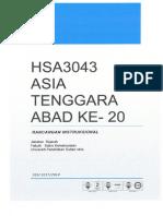 Asia Tenggara Abad Ke-20