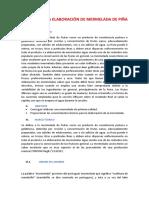 Informe de La Elaboración de Mermelada de Piñ1